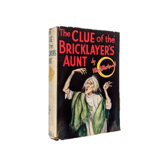 The Clue of the Bricklayer's Aunt by Nigel Morland First Edition Cassell 1936